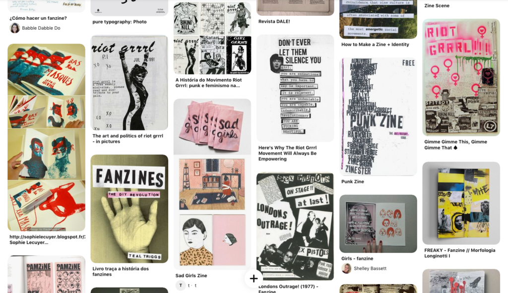 zines visual research